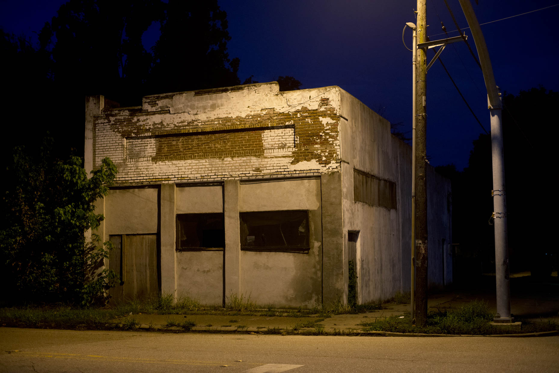 """Abandoned Store"", Greenville, Mississippi"