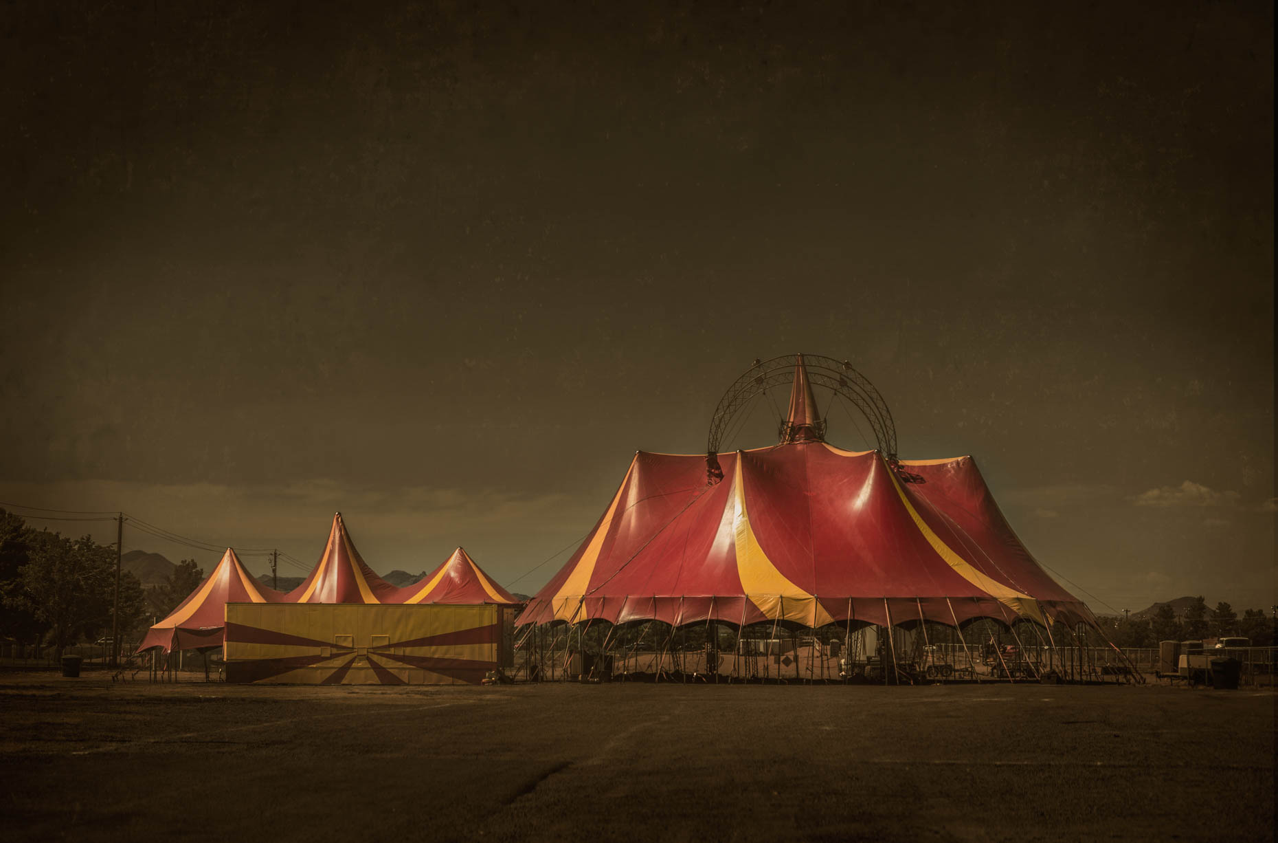 """Circus Tent"", Needles California, 2014"