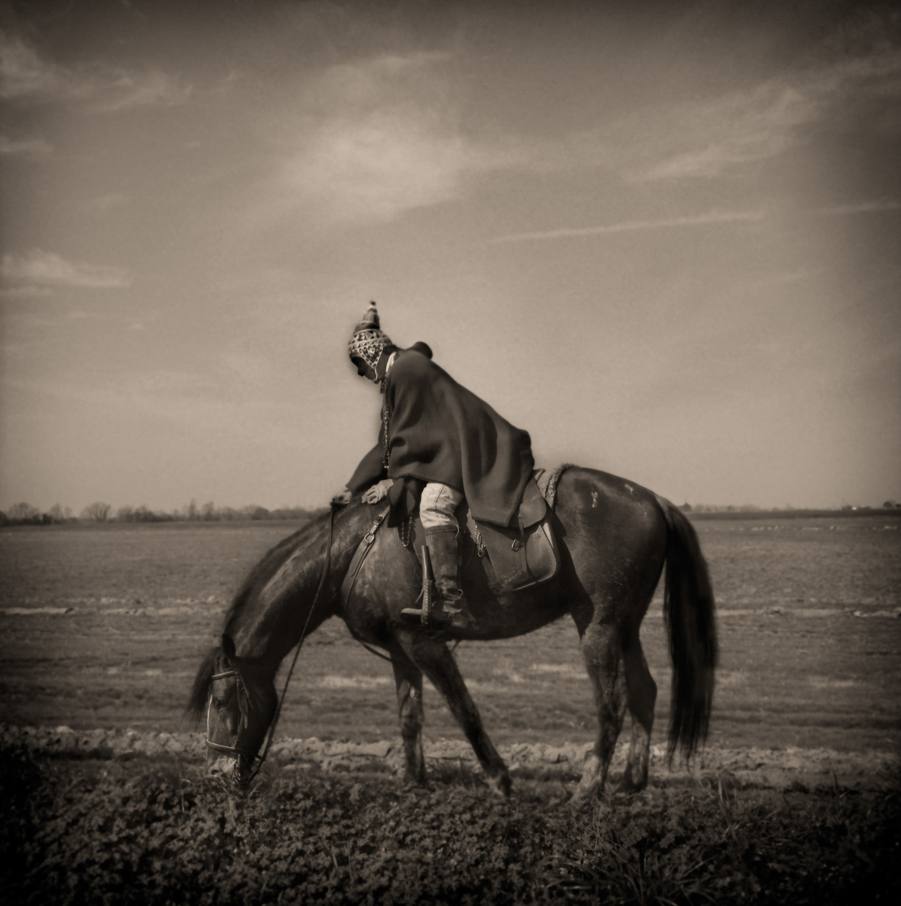 """Fool on a Horse""  Mamou Louisiana"