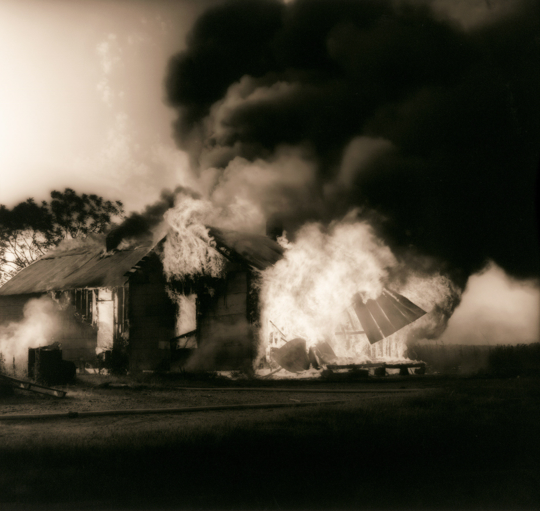 """House Burning""  Como Mississippi"