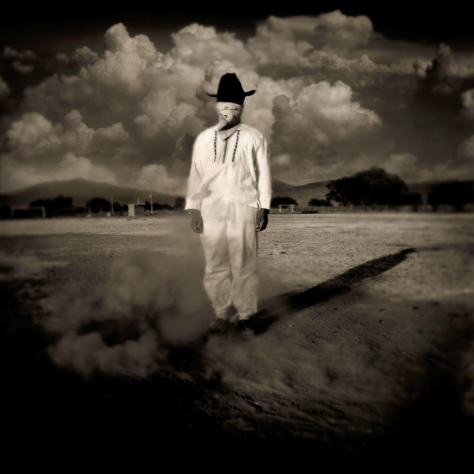 MAN in Dust Cloud