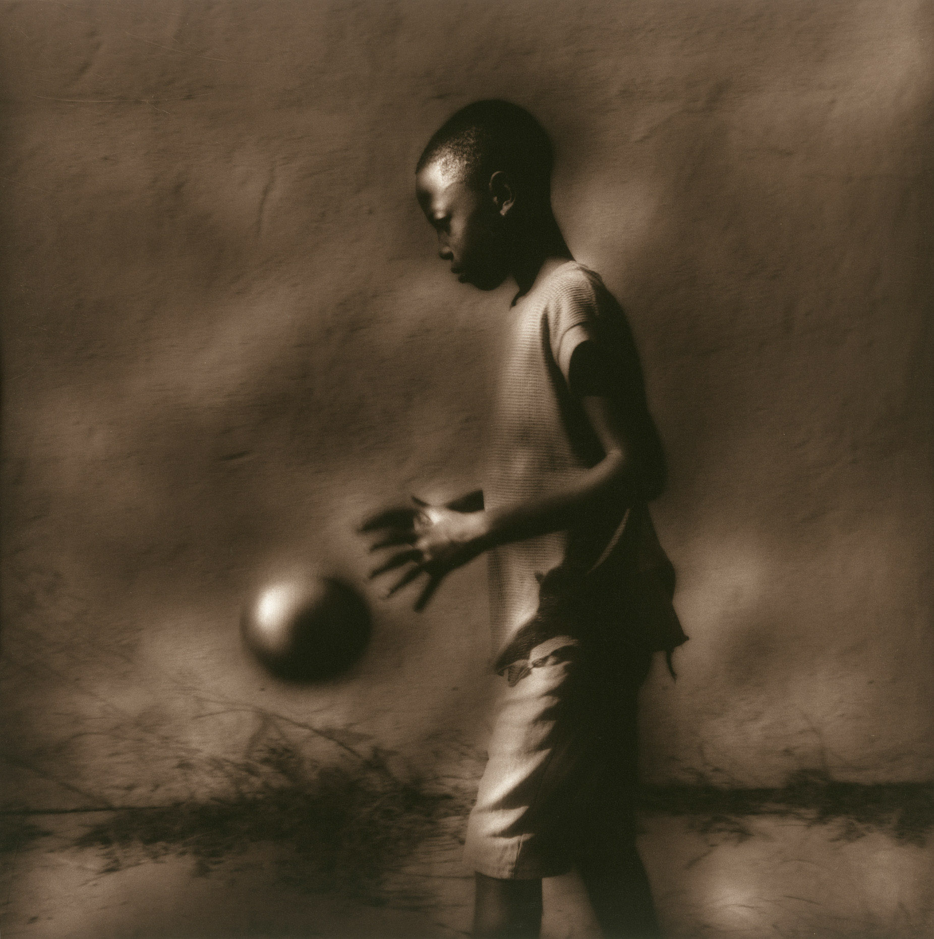 """Boy With Ball""  Como Mississippi"