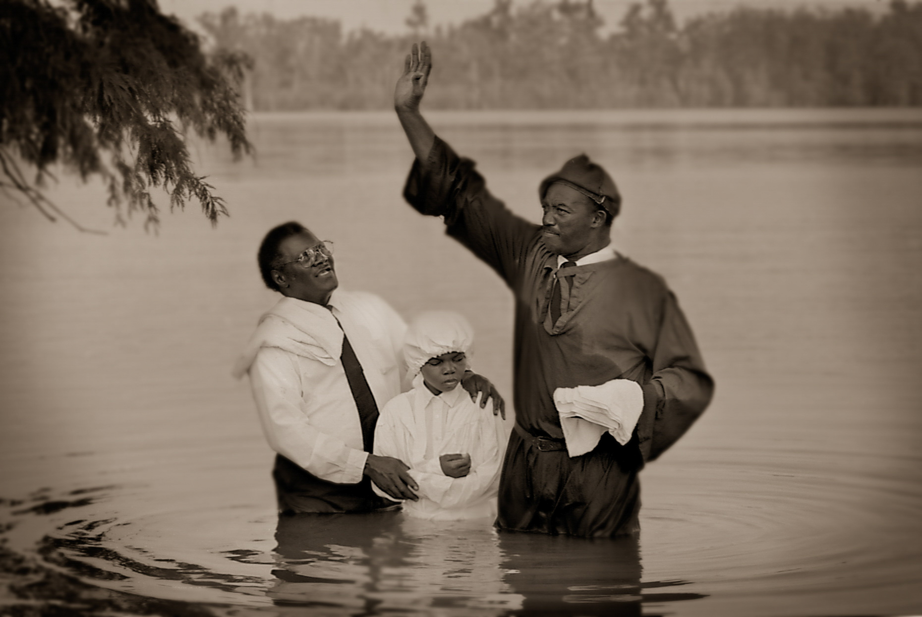 """Baptism""  Moon Lake Mississippi"