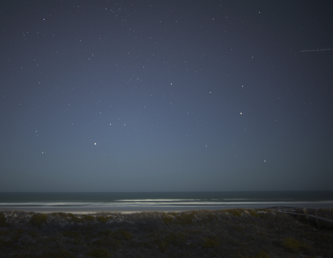 """Night Beach"" 2011, St. Augustine, Florida"