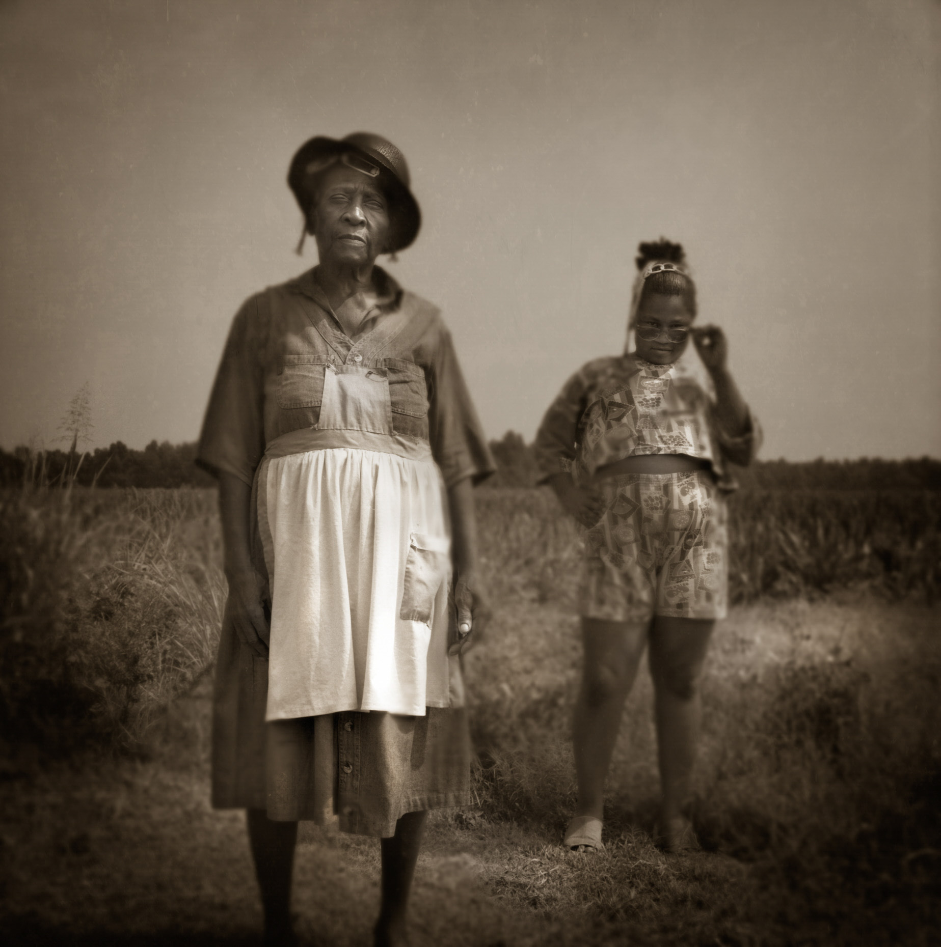 """Willie Mae and Felicia""  Marks Mississippi"